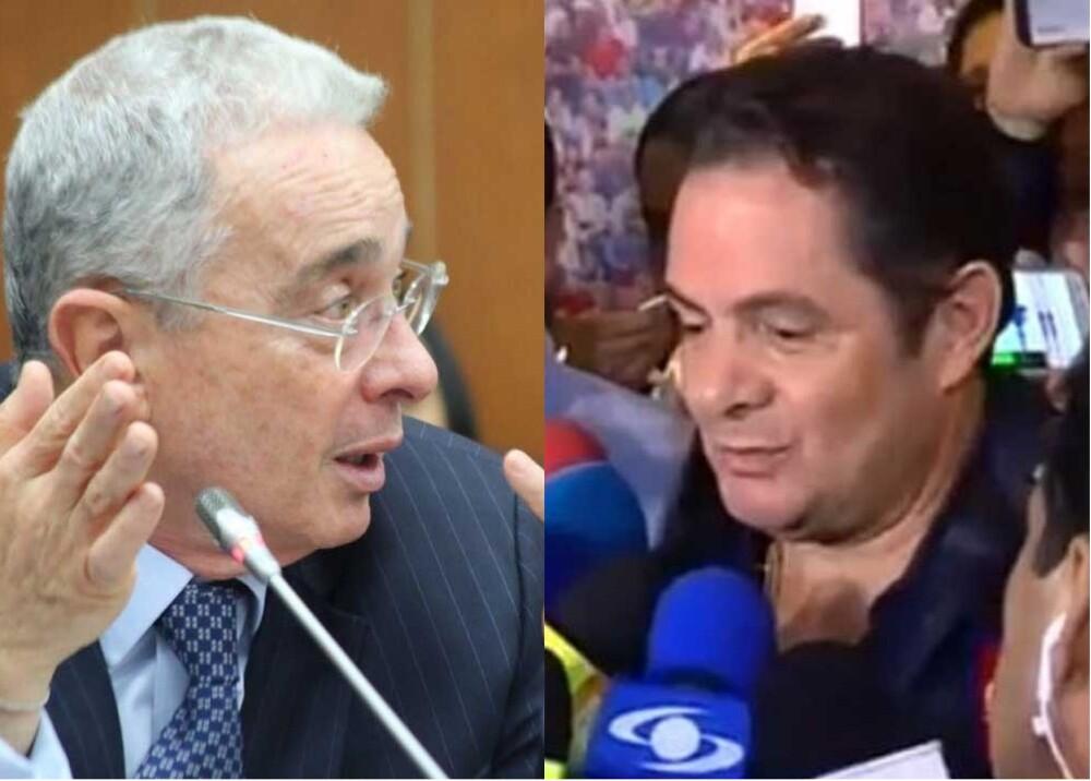 316278_Blu Radio. Álvaro Uribe. Germán Vargas Lleras. Fotos: Senado