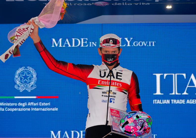 Joe Dombrowski fue el ganador de la etapa 4 del Giro de Italia 2021.