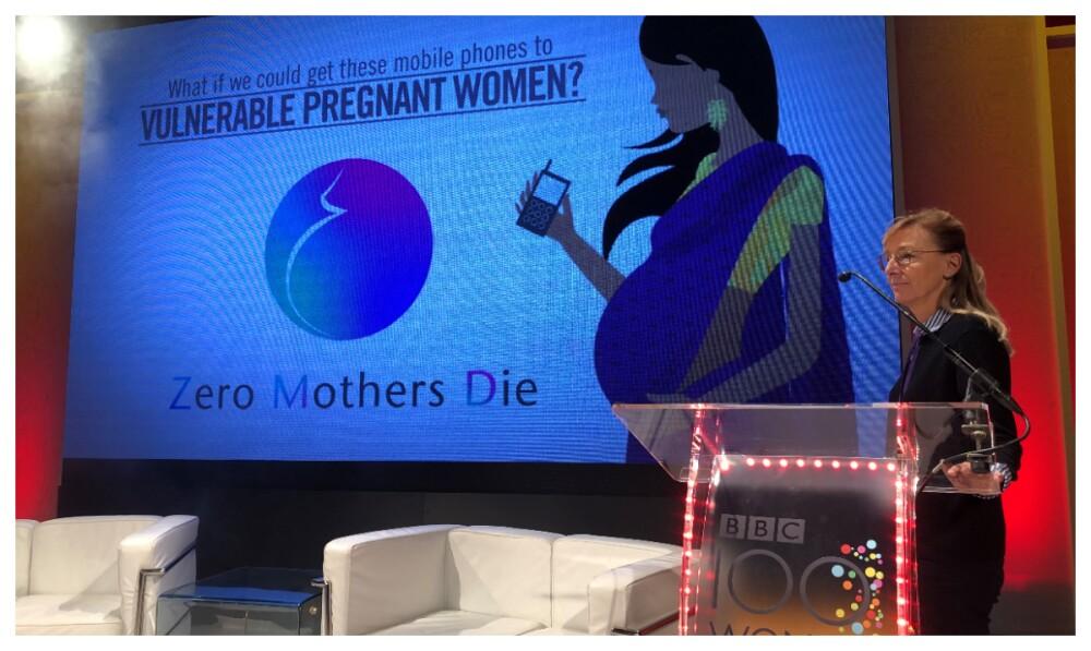 Veronique Inés Thouvenot de la aplicación de 'Zero Mothers Die'