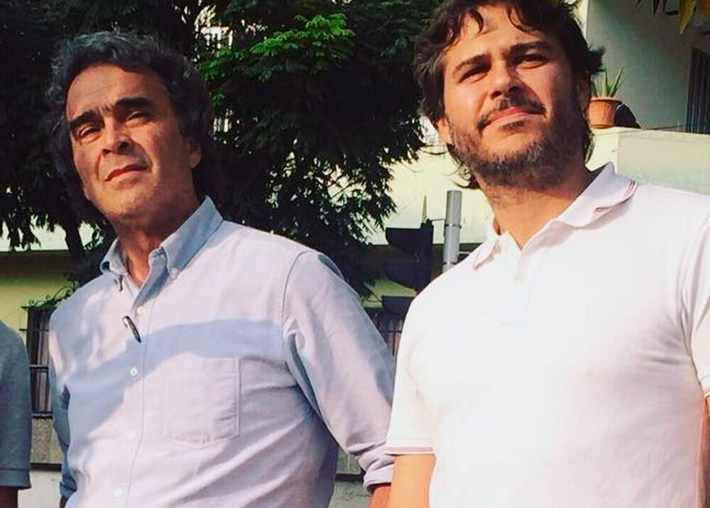 Sergio Fajardo y Santiago Londoño Uribe