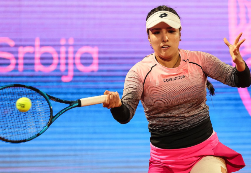 María Camila Osorio clasificó a la semifinal del WTA 250 del Belgrado.