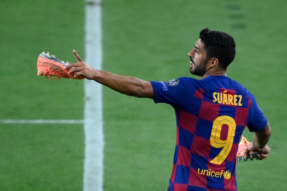 Luis Suárez, Barcelona vs Napoli