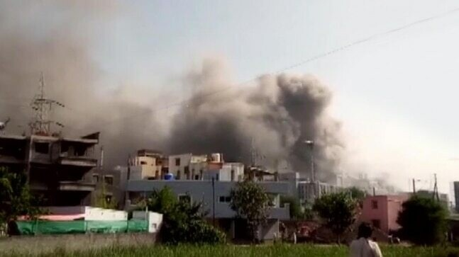 Incendio en el Serum Institute of India - captura de video one india.jpeg