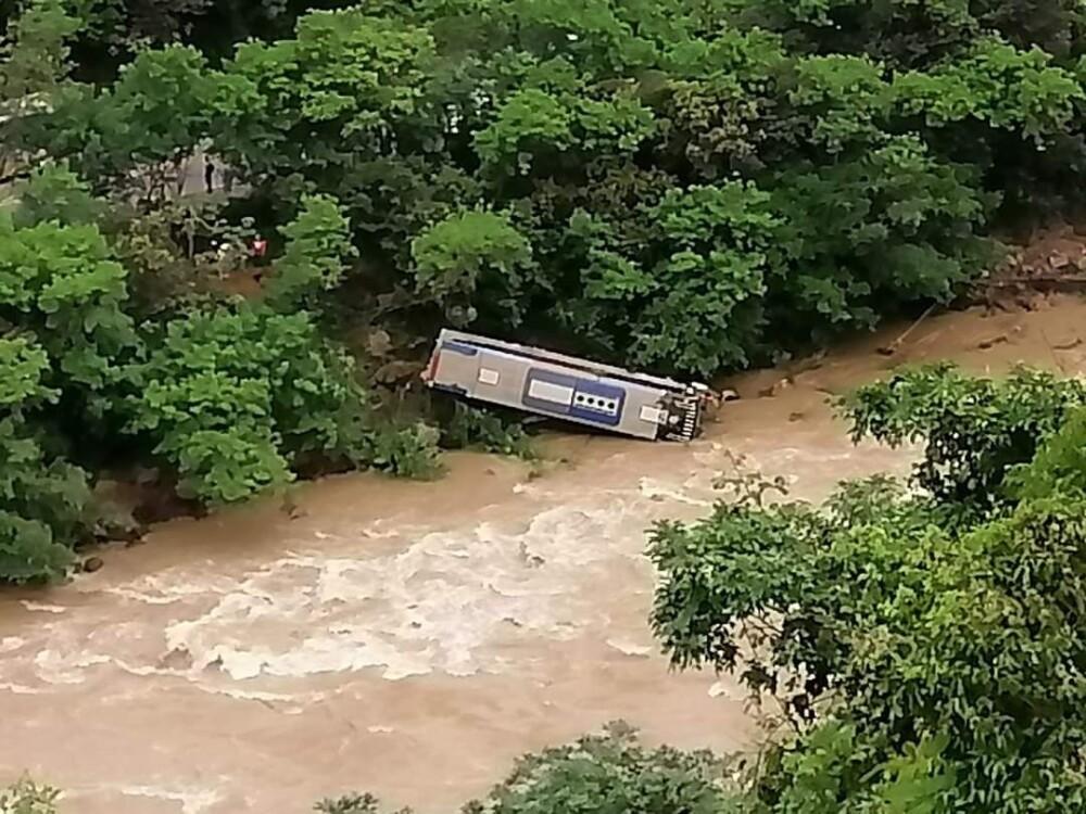 Accidente de tránsito en La Pintada