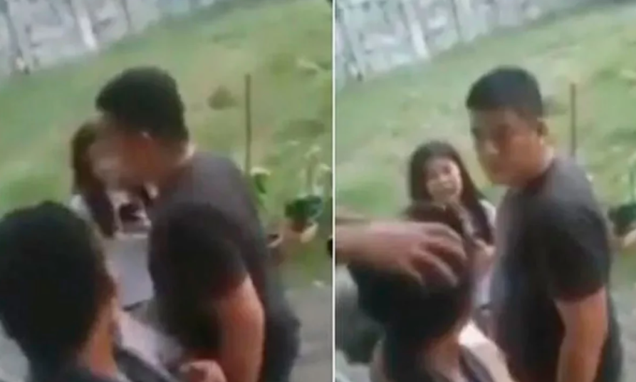 Policía le disparó, a quema ropa, a una madre y a su hijo en Filipinas.PNG
