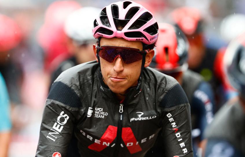 Egan Bernal es líder del Giro de Italia tras 15 etapas.