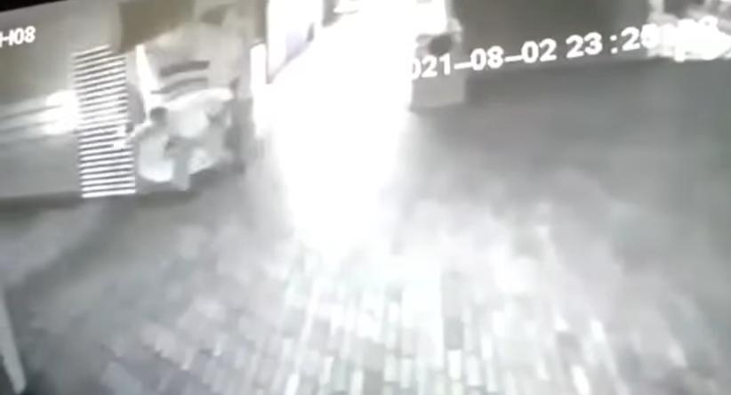 Ataque de presunto fantasma a vigilante en Armenia