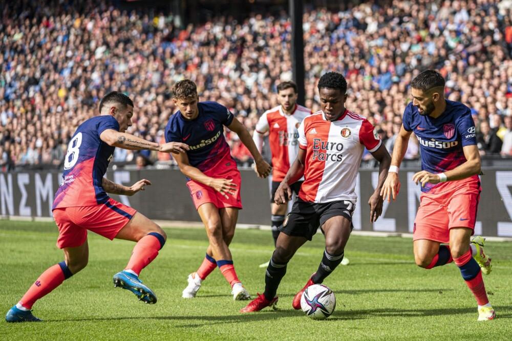 Luis Sinisterra, jugador de Feyenoord. AFP.jpeg