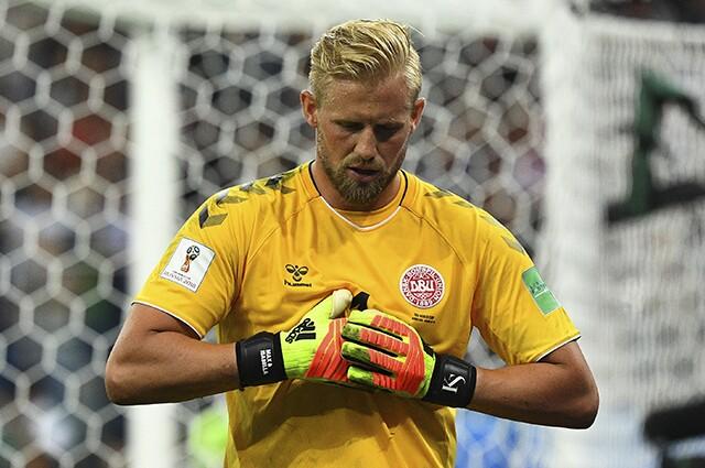 Kasper Schmeichel figura y líder de la Selección de Dinamarca