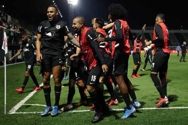 Bragantino contra Rosario Central, en Copa Sudamericana
