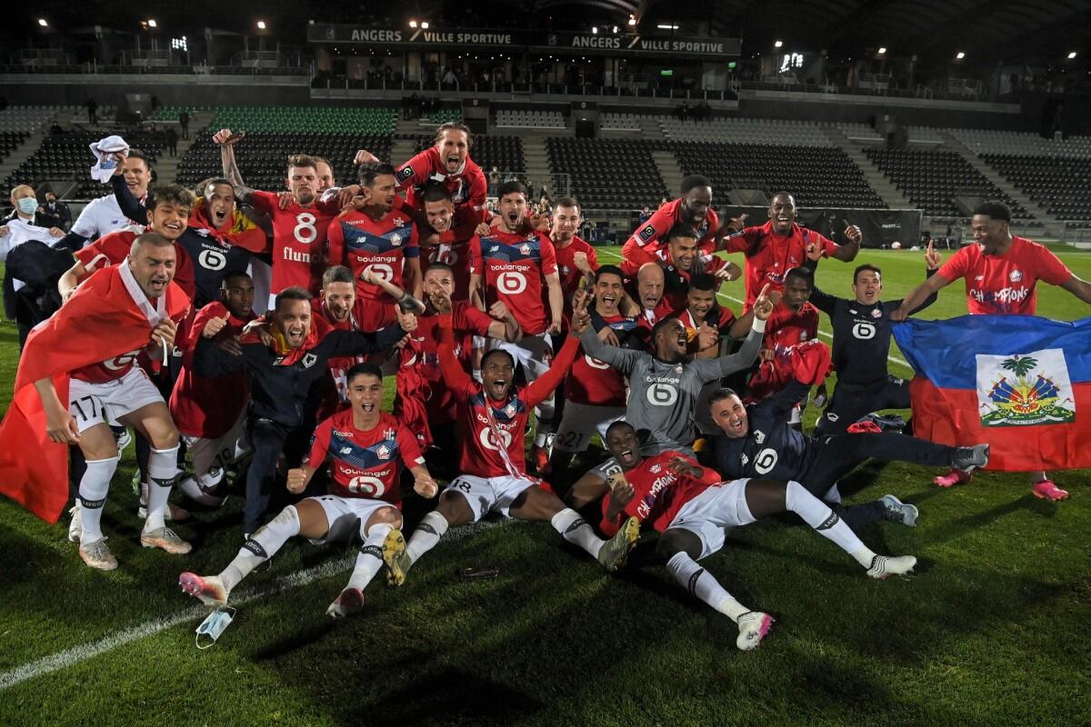 El Lille soporta la presión del PSG y gana la Ligue 1