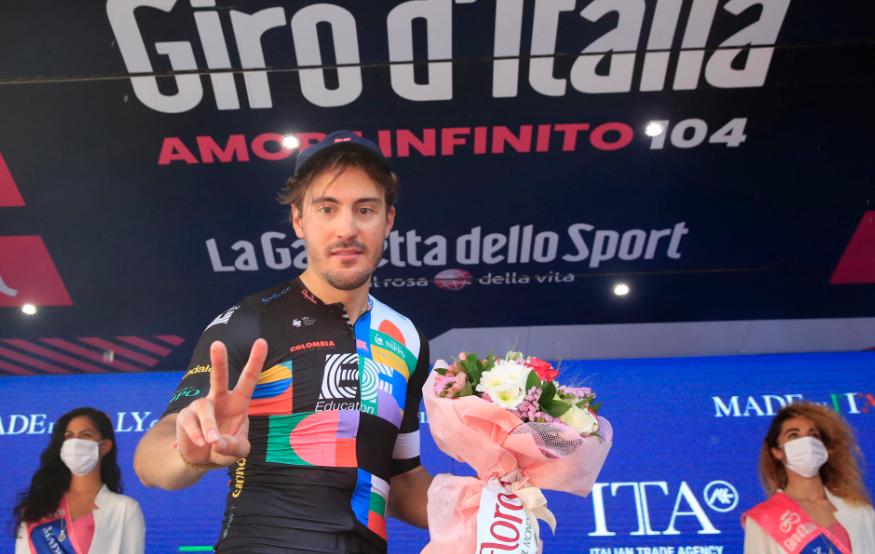 Alberto Bettiol fue el ganador de la etapa 18 del Giro de Italia.