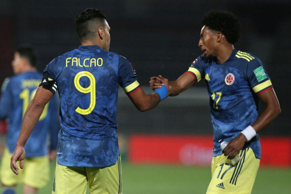 Falcao Mojica y Johan Mojica - Selección Colombia