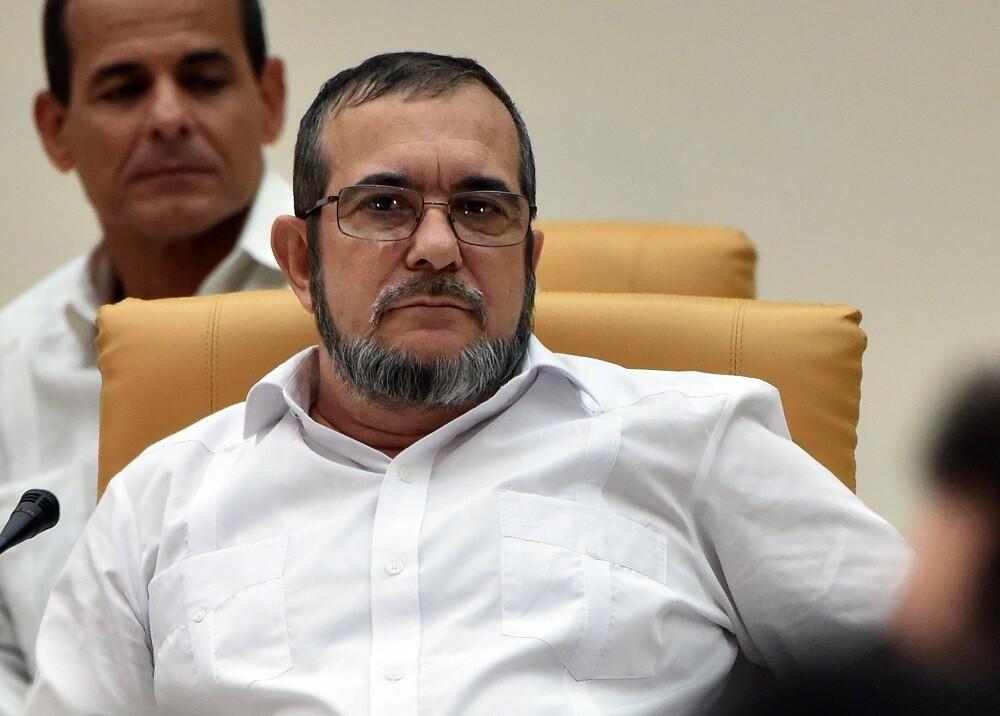 136151_Rodrigo Londoño Echeverri alias Timochenko / Foto: AFP