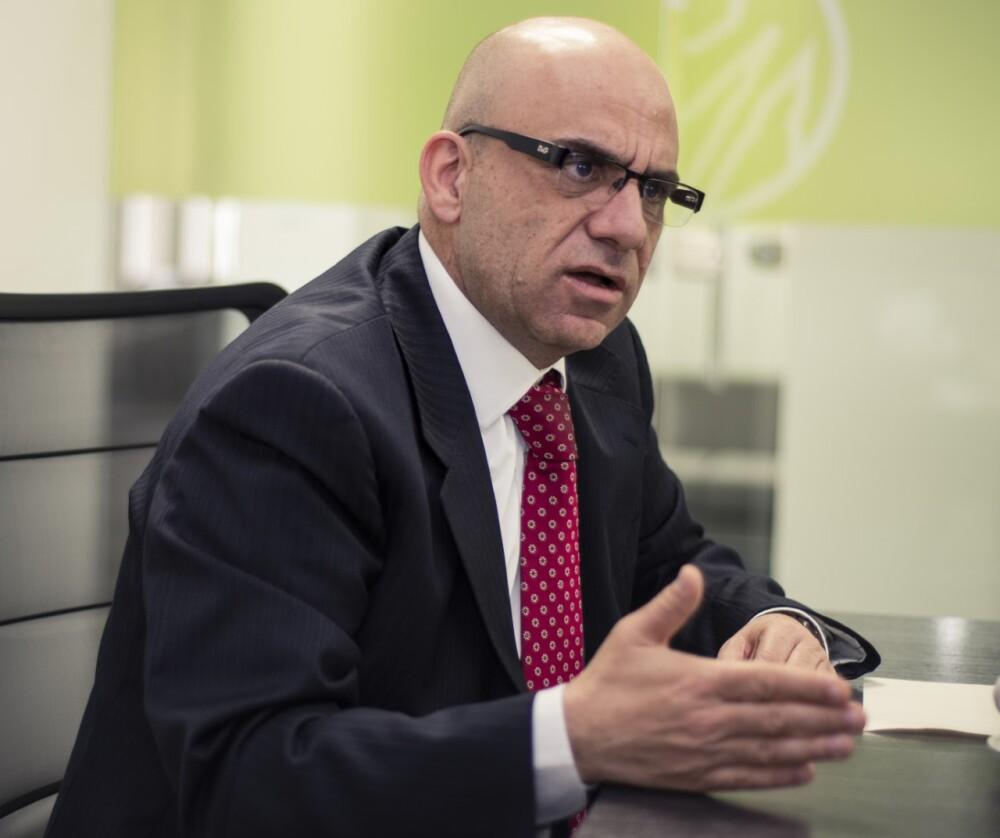Francisco José Mejía, presidente del Banco Agrario