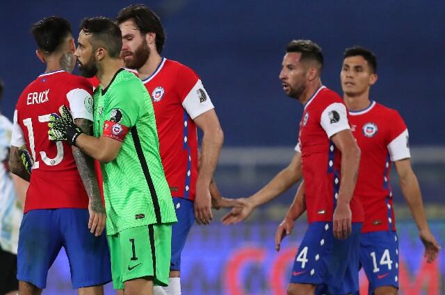 Selección de Chile, en Copa América