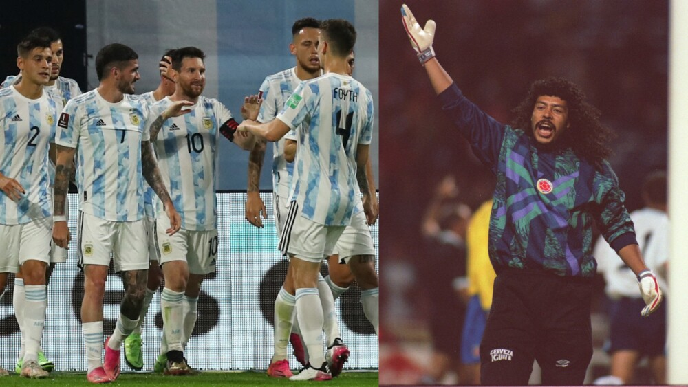 René Higuita sobre Colombia vs. Argentina