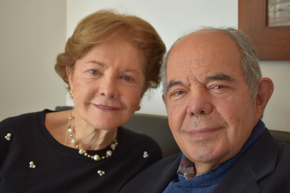 Enrique Arbeláez y Yolanda de Arbeláez. Foto suministrada por la familia.jpeg