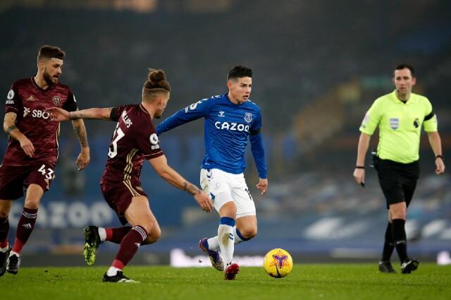 James Rodríguez, Everton vs Leeds