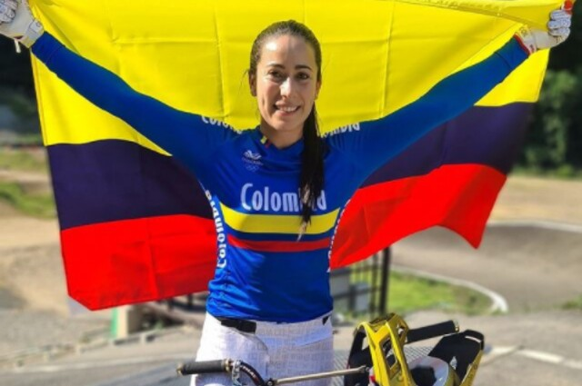 Mariana Pajón, previo a los Juegos Olímpicos