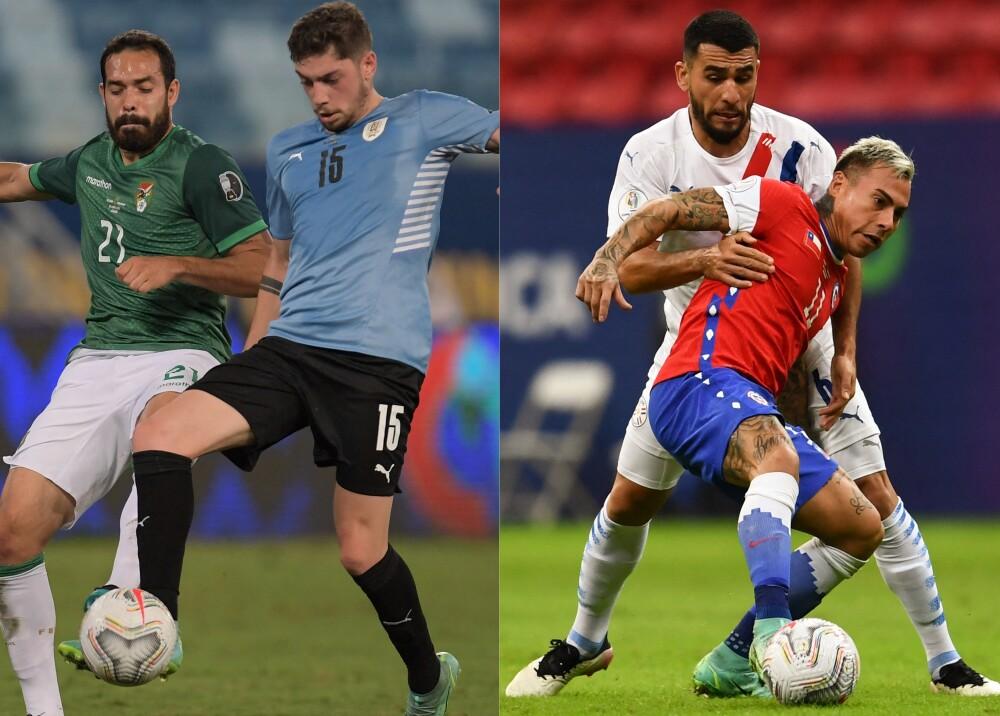 Bolivia vs Uruguay y Chile vs Paraguay Foto AFP.jpg