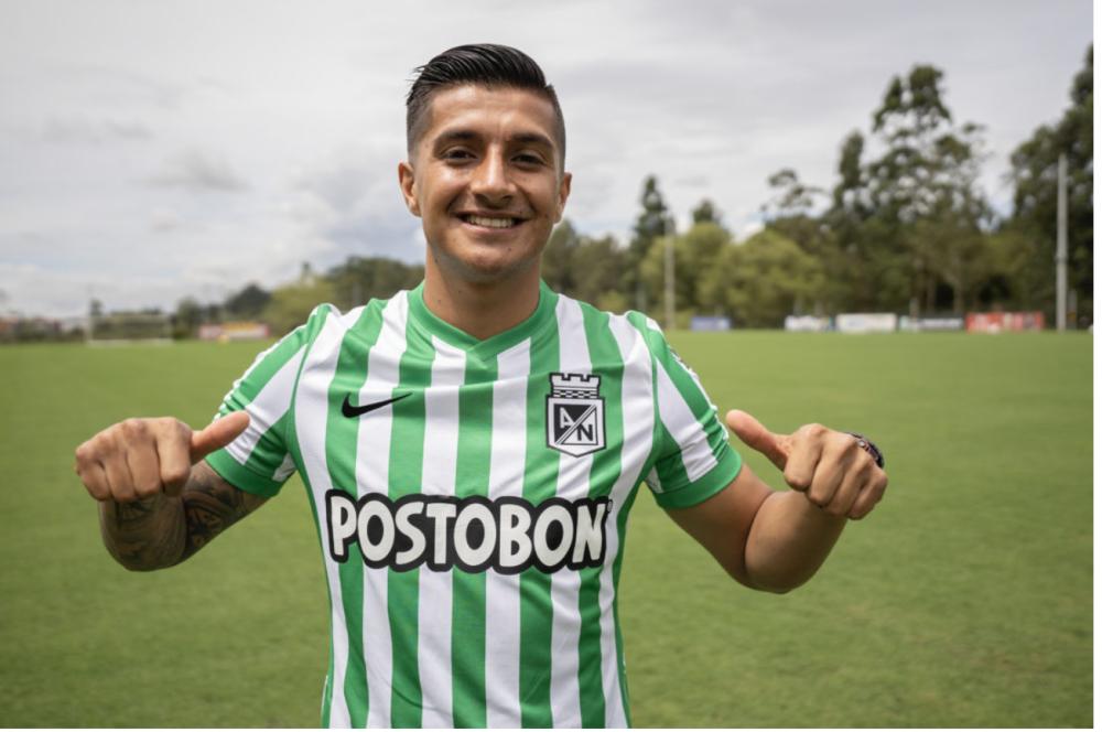 Yeison Guzmán, nuevo jugador de Nacional