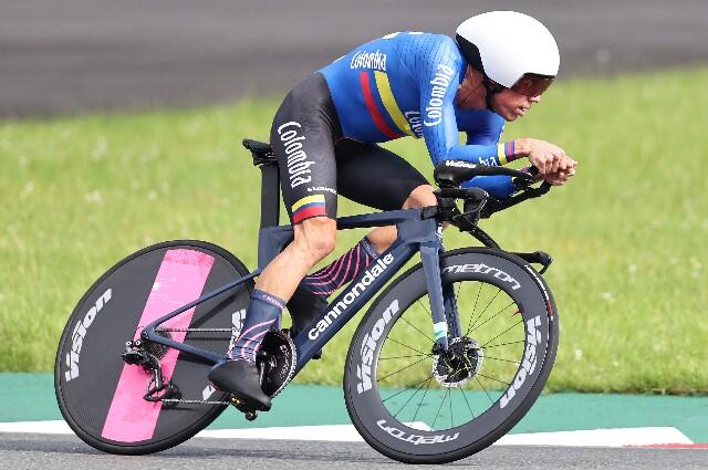 Rigoberto Urán, en los Juegos Olímpicos de Tokio