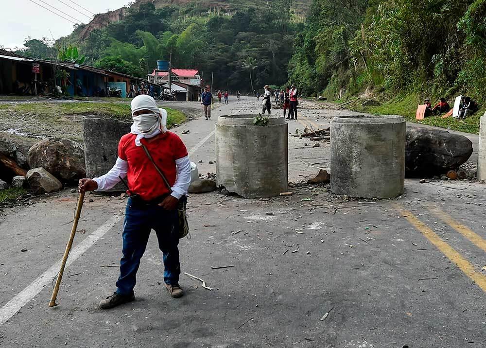 331139_BLU Radio, Minga Indígena / foto: AFP