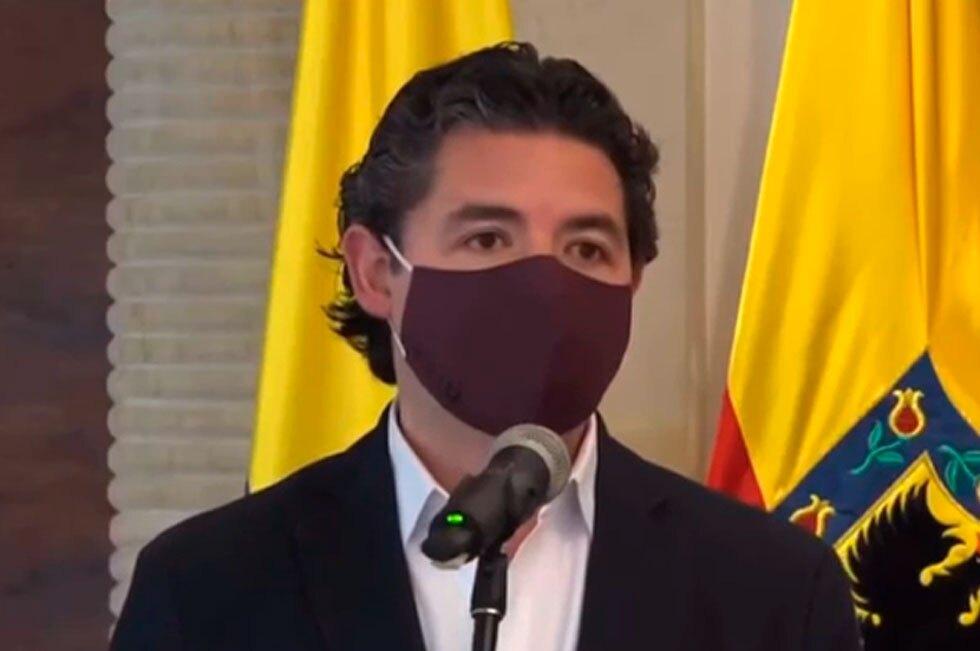 Aníbal Fernández de Soto, nuevo secretario de Seguridad de Bogotá