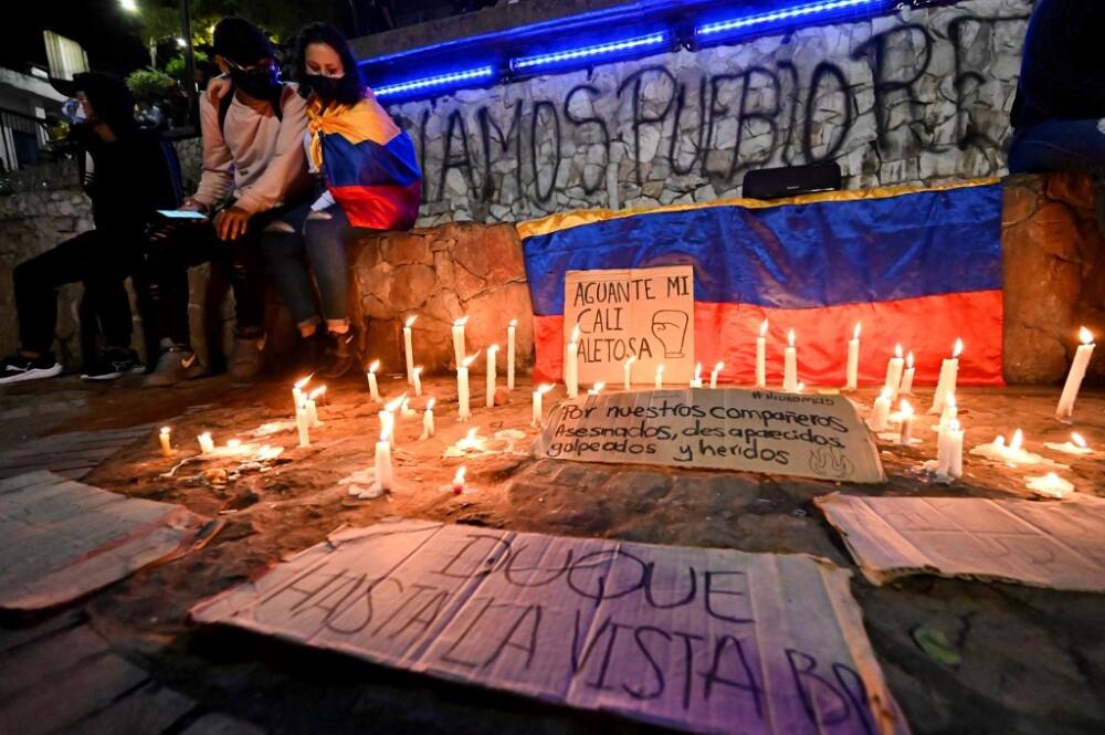 Acto en memoria de asesinados y heridos en protestas