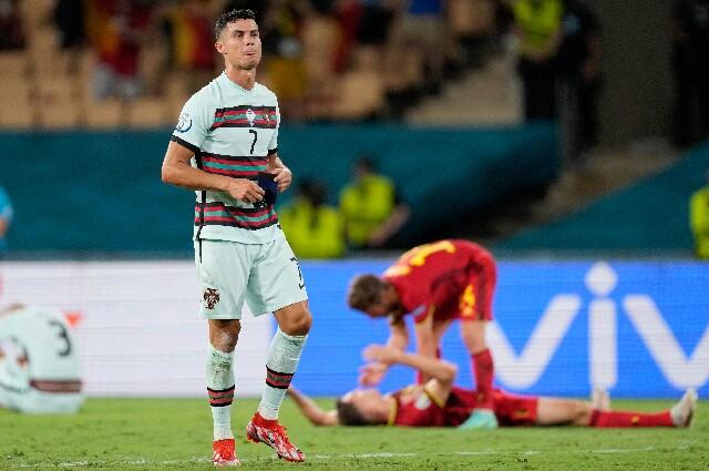 Portugal contra Bélgica, en la Eurocopa