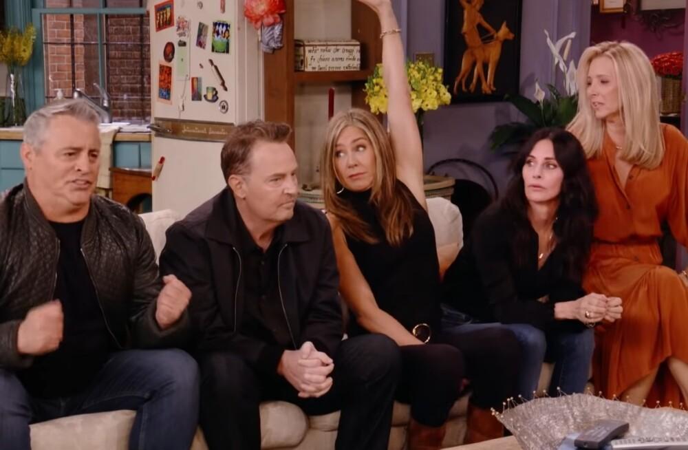 'Friends' presentó avance del reencuentro