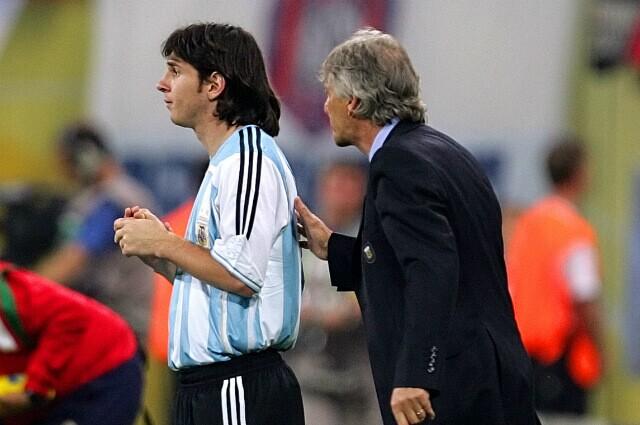 333081_Lionel Messi y José Pékerman