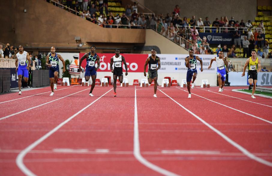 Los 100 metros planos son la prueba reina del atletismo en los Juegos Olímpicos.