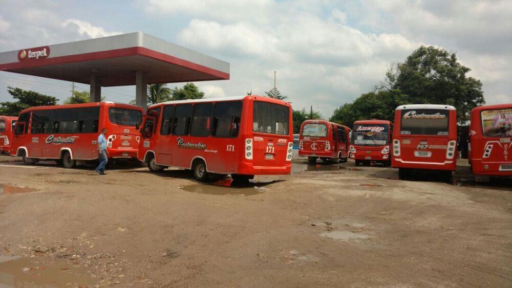 294459_Blu Radio /Buses de servicio público en Barranquilla. Foto: BLU Radio