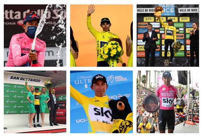 Egan Bernal se coronó campeón del Giro de Italia 2021.