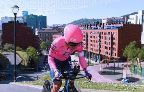 Sergio Higuita fue 28 en la etapa 1 de la Vuelta al País Vasco. Getty Images