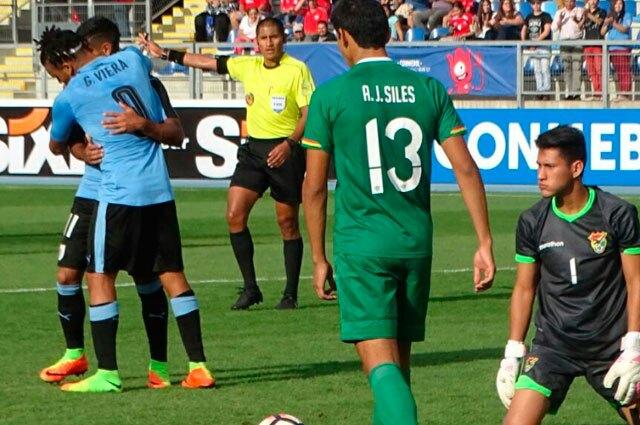 249006_Uruguay venció a Bolivia 2-0 en el Suramericano Sub-17