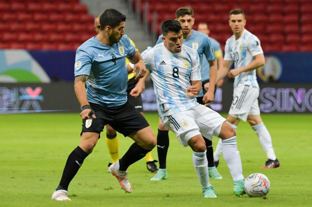 Selección Argentina Uruguay AFP.