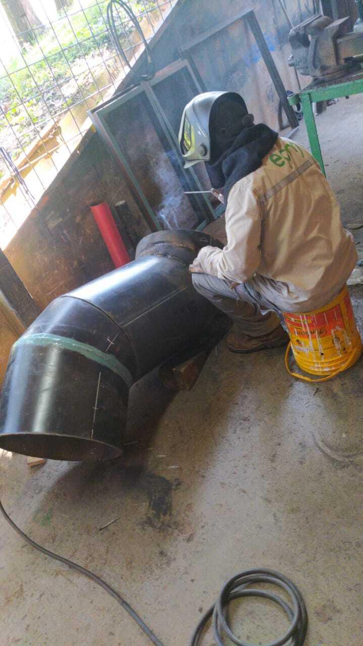 371055_Reparación de daño. Foto: Cortesía