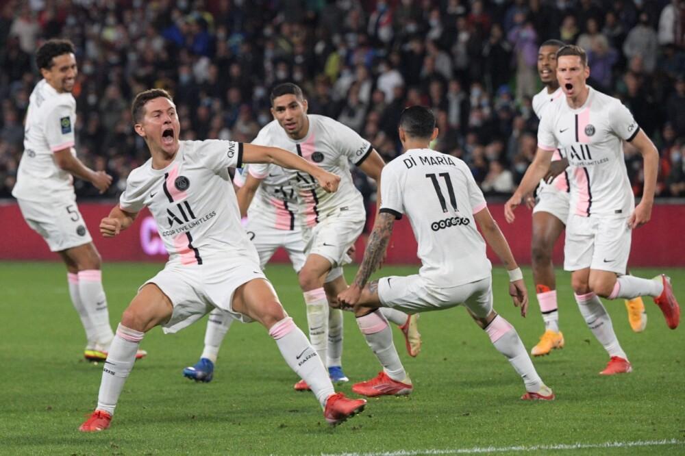 PSG frente al Metz, en Liga de Francia