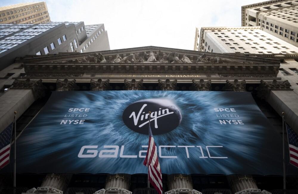 Logo de Virgin Galactic