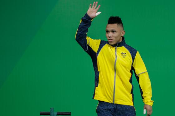 Luis Javier Mosquera representará a Colombia en los Juegos Olímpicos de Tokio 2020.