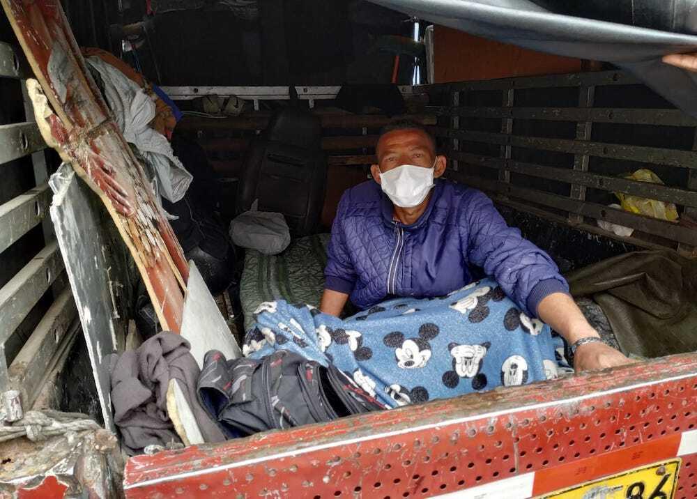 359401_Desalojados en Bogotá / Foto: BLU Radio