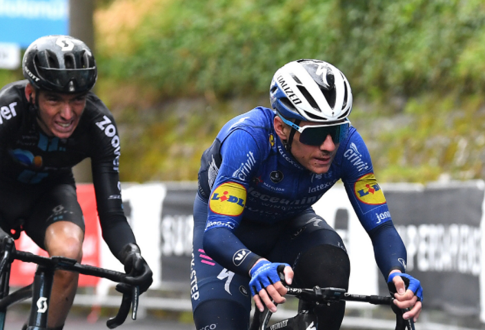 Remco Evenepoel es octavo en la general del Giro de Italia tras la etapa 4.