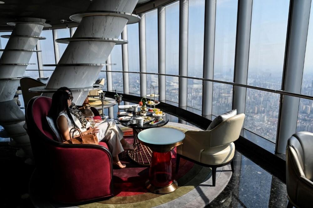 Hotel más alto del mundo está en Shanghái