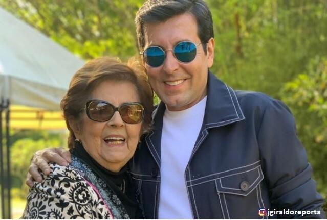 Juan Carlos Giraldo y su mam