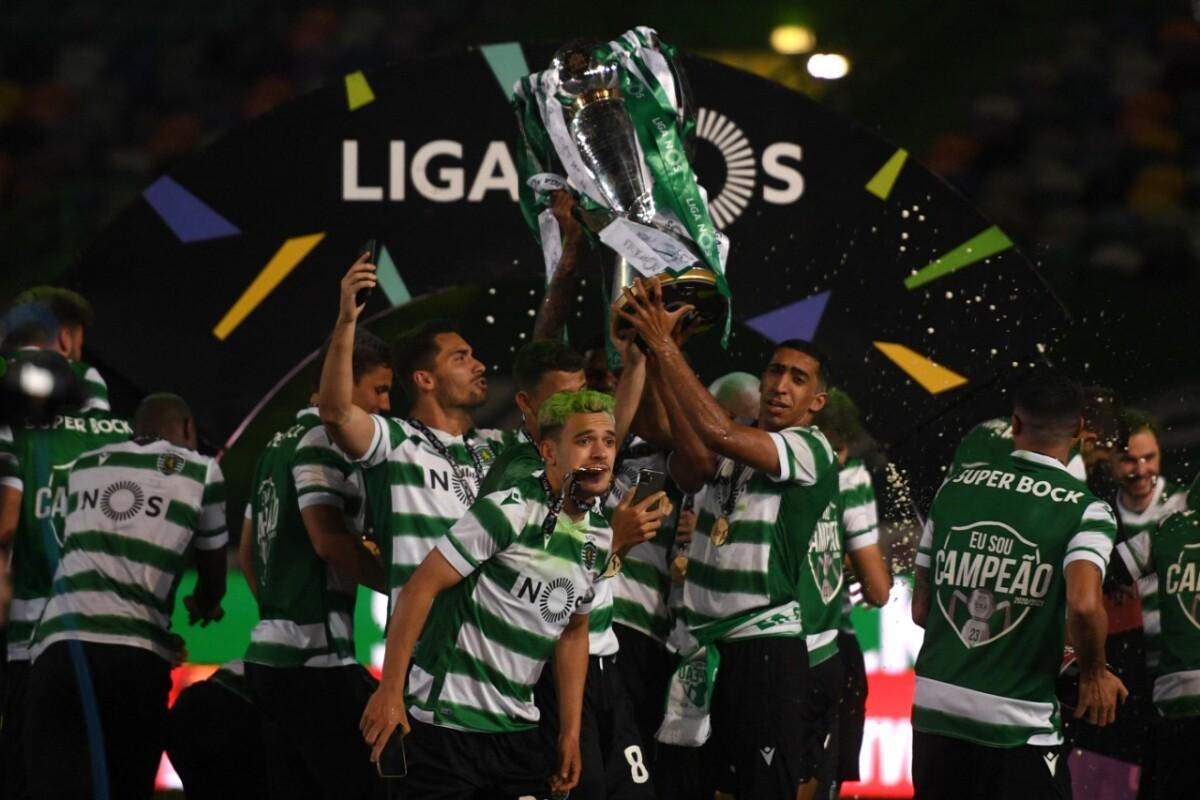 Se terminó la carrera por la Liga de Portugal: El Sporting de Lisboa se  proclamó campeón