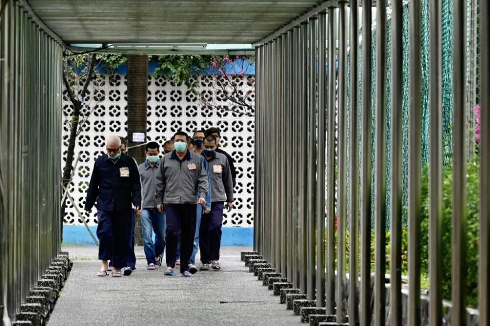 Traslado de presos colombianos en China