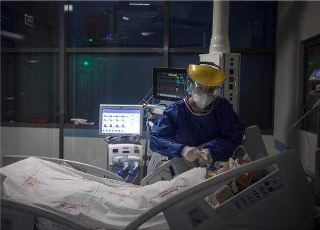 368966_Paciente // Foto: Referencia AFP